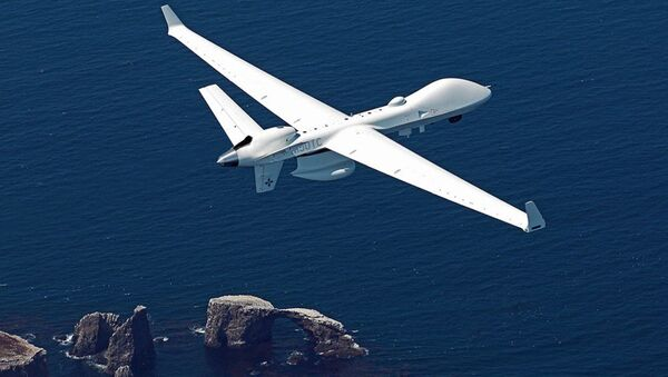 Máy bay không người lái tấn công MQ-9B SeaGuardian - Sputnik Việt Nam