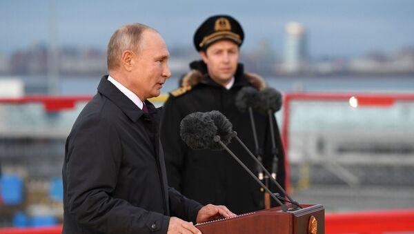 Chuyến công tác của Tổng thống Liên bang Nga V.Putin tới Quận Tây Bắc Liên bang - Sputnik Việt Nam