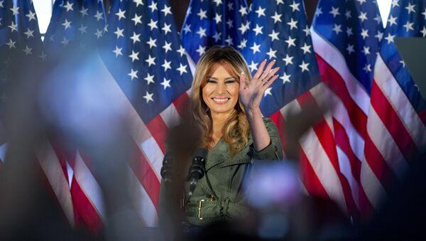 Đệ Nhất Phu nhân Hoa Kỳ Melania Trump - Sputnik Việt Nam