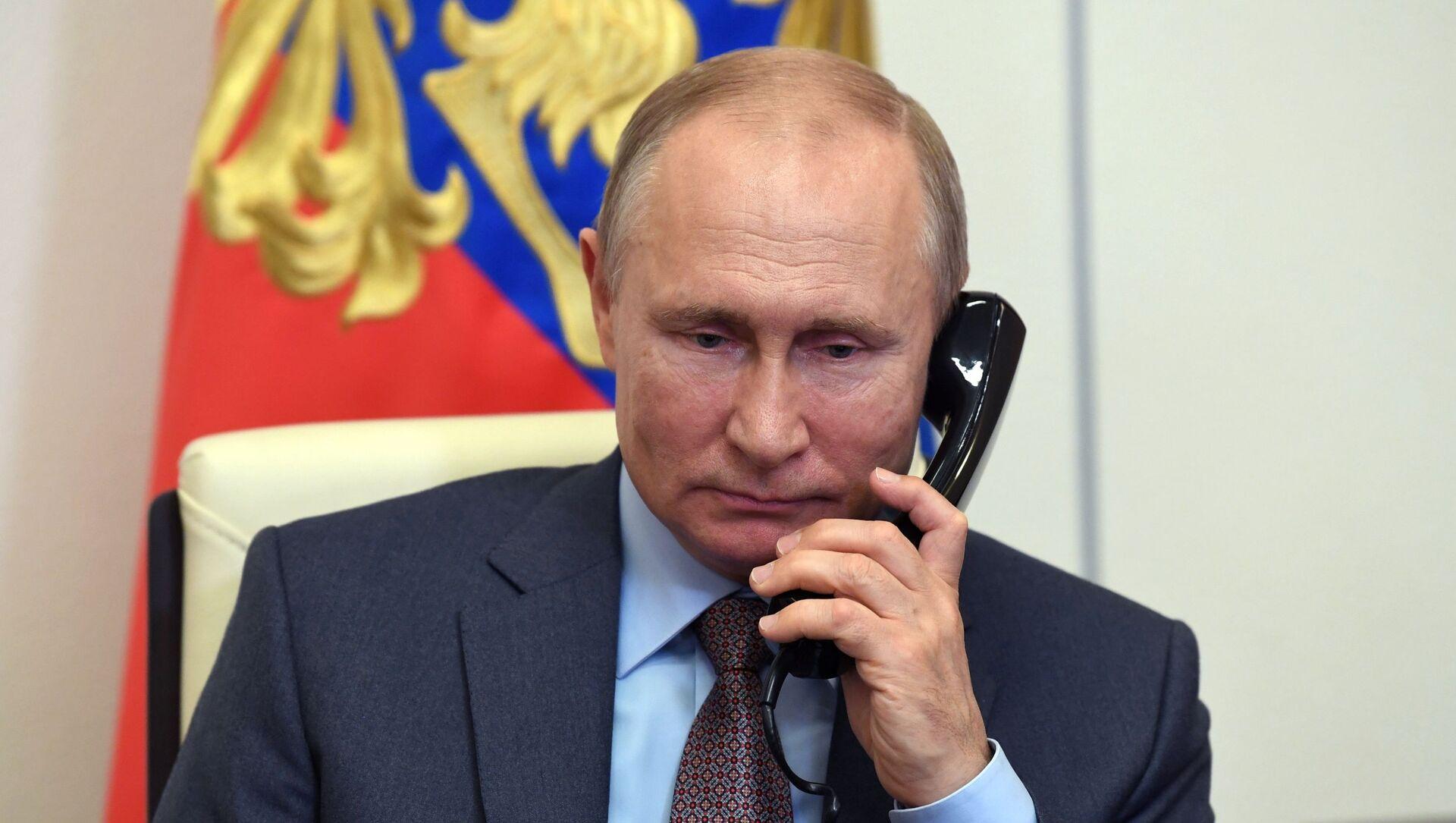 Tổng thống Nga Putin và Tổng thống Belarus Lukashenko đã tiến hành điện đàm - Sputnik Việt Nam, 1920, 05.04.2021