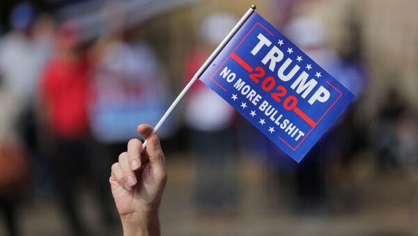 Những người ủng hộ Donald Trump biểu tình ở Atlanta - Sputnik Việt Nam