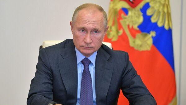 Tổng thống Nga Vladimir Putin. - Sputnik Việt Nam