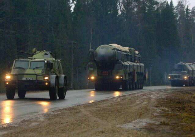 Hệ thống an ninh nhiều lớp của tổ hợp tên lửa Topol-M