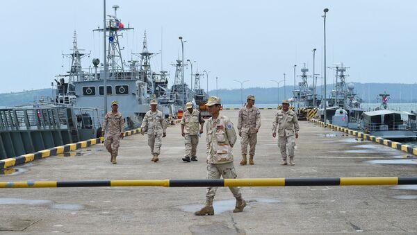 Căn cứ hải quân Ream ở Campuchia - Sputnik Việt Nam
