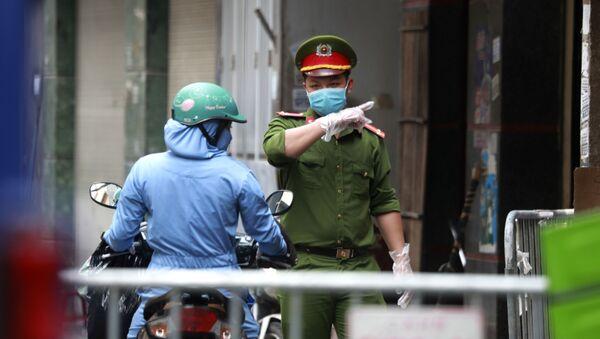 Các biện pháp an ninh chống lại coronavirus ở Việt Nam - Sputnik Việt Nam