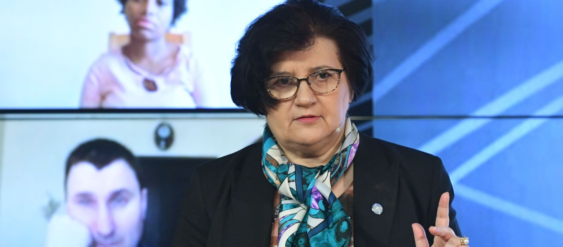 Đại diện của WHO tại Nga, bà Melita Vuinovich - Sputnik Việt Nam, 1920, 03.03.2021