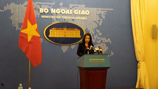 Phát ngon viên Bộ Ngoại giao Việt Nam Lê Thị Thu Hằng - Sputnik Việt Nam