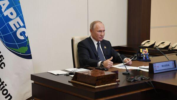 Tổng thống Nga V.Putin tham dự cuộc họp của các nhà lãnh đạo các nền kinh tế của Diễn đàn APEC - Sputnik Việt Nam