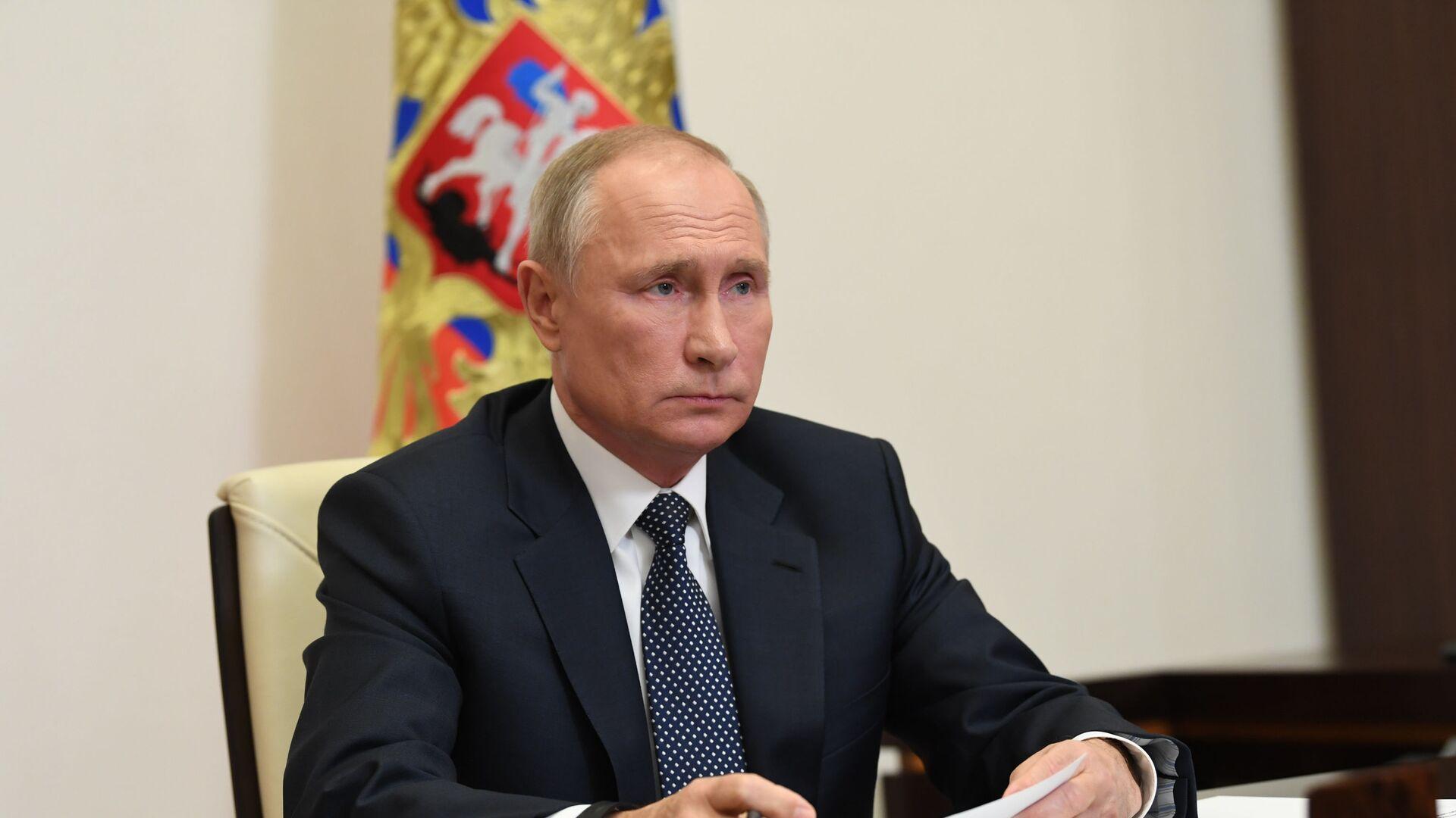 Tổng thống Nga Vladimir Putin. - Sputnik Việt Nam, 1920, 06.10.2021