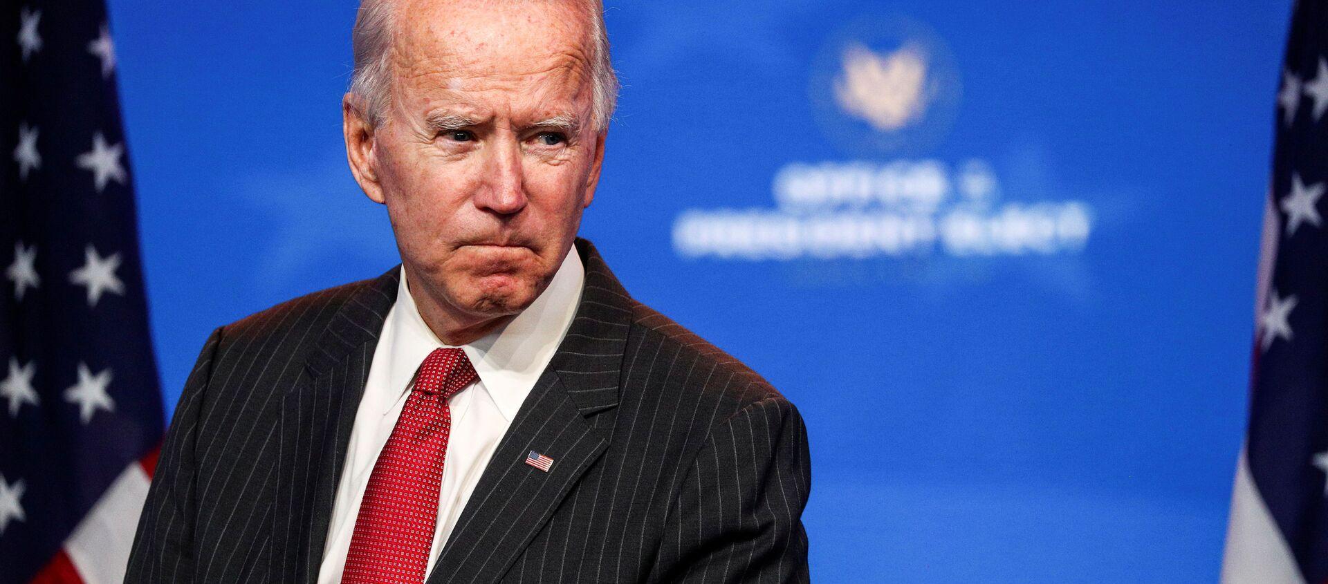 Ứng cử viên tổng thống Mỹ Joe Biden tại Wilmington - Sputnik Việt Nam, 1920, 21.12.2020