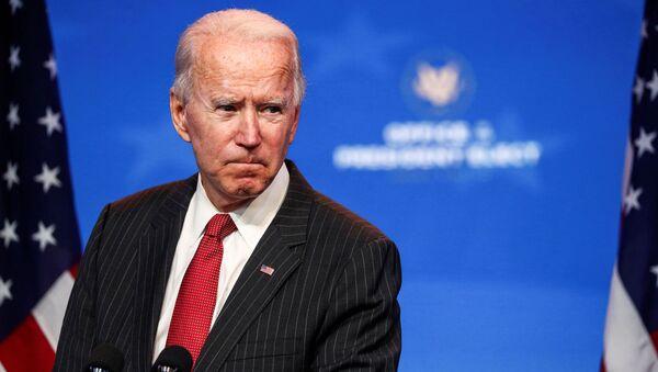 Ứng cử viên tổng thống Mỹ Joe Biden tại Wilmington - Sputnik Việt Nam