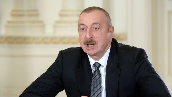 Tổng thống Azerbaijan Ilham Aliyev - Sputnik Việt Nam