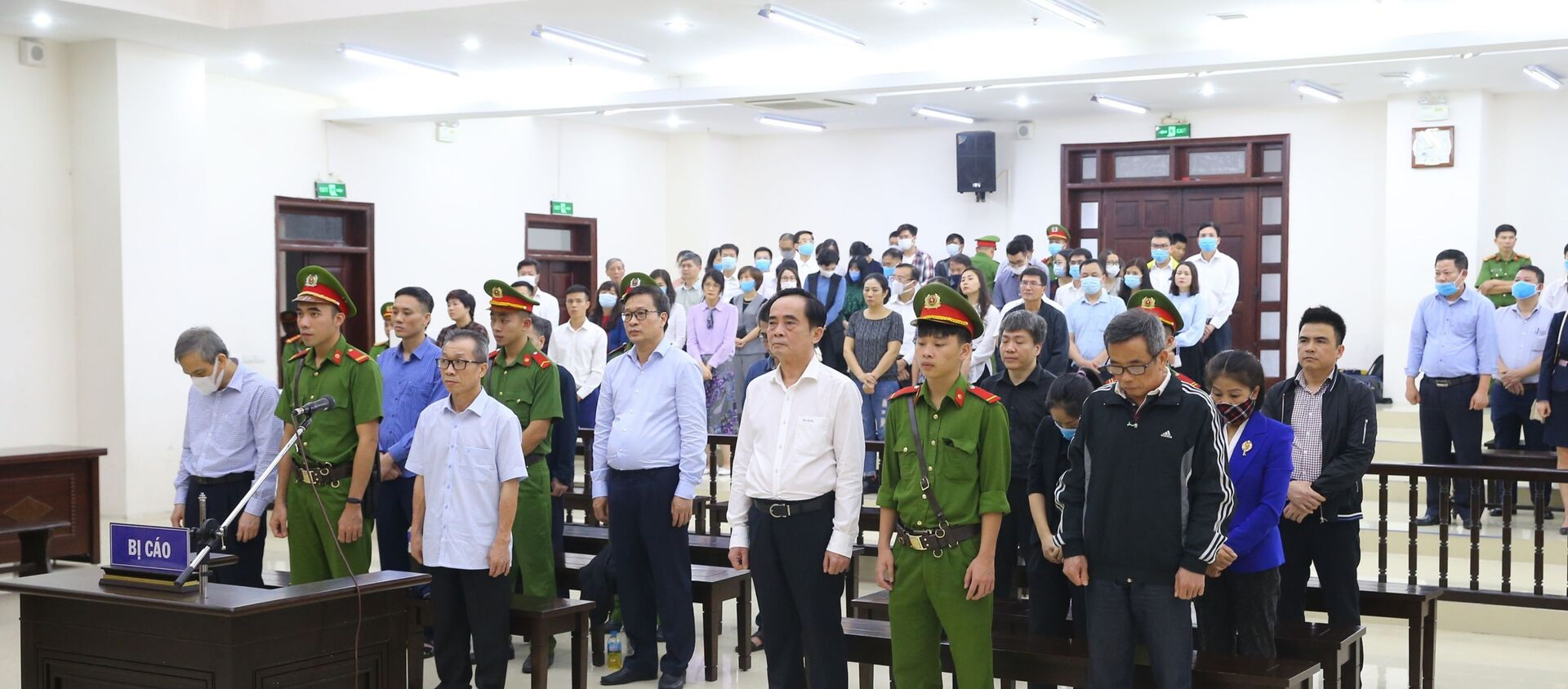 Các bị cáo nghe Hội đồng xét xử tuyên án. - Sputnik Việt Nam, 1920, 27.11.2020