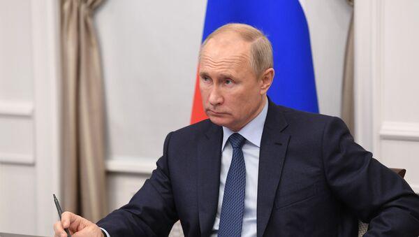 Chuyến công tác của Tổng thống Liên bang Nga V.Putin tới Vùng Nizhny Novgorod - Sputnik Việt Nam