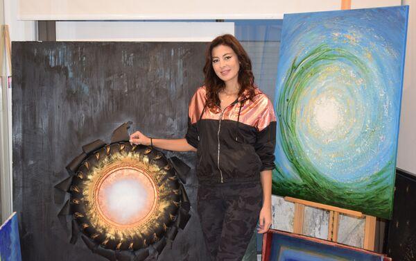 Nghệ sĩ Lebanon Hayat Nazer - Sputnik Việt Nam