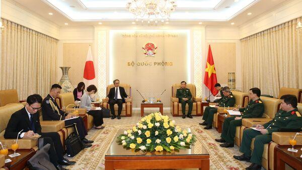 Quang cảnh buổi tiếp - Sputnik Việt Nam