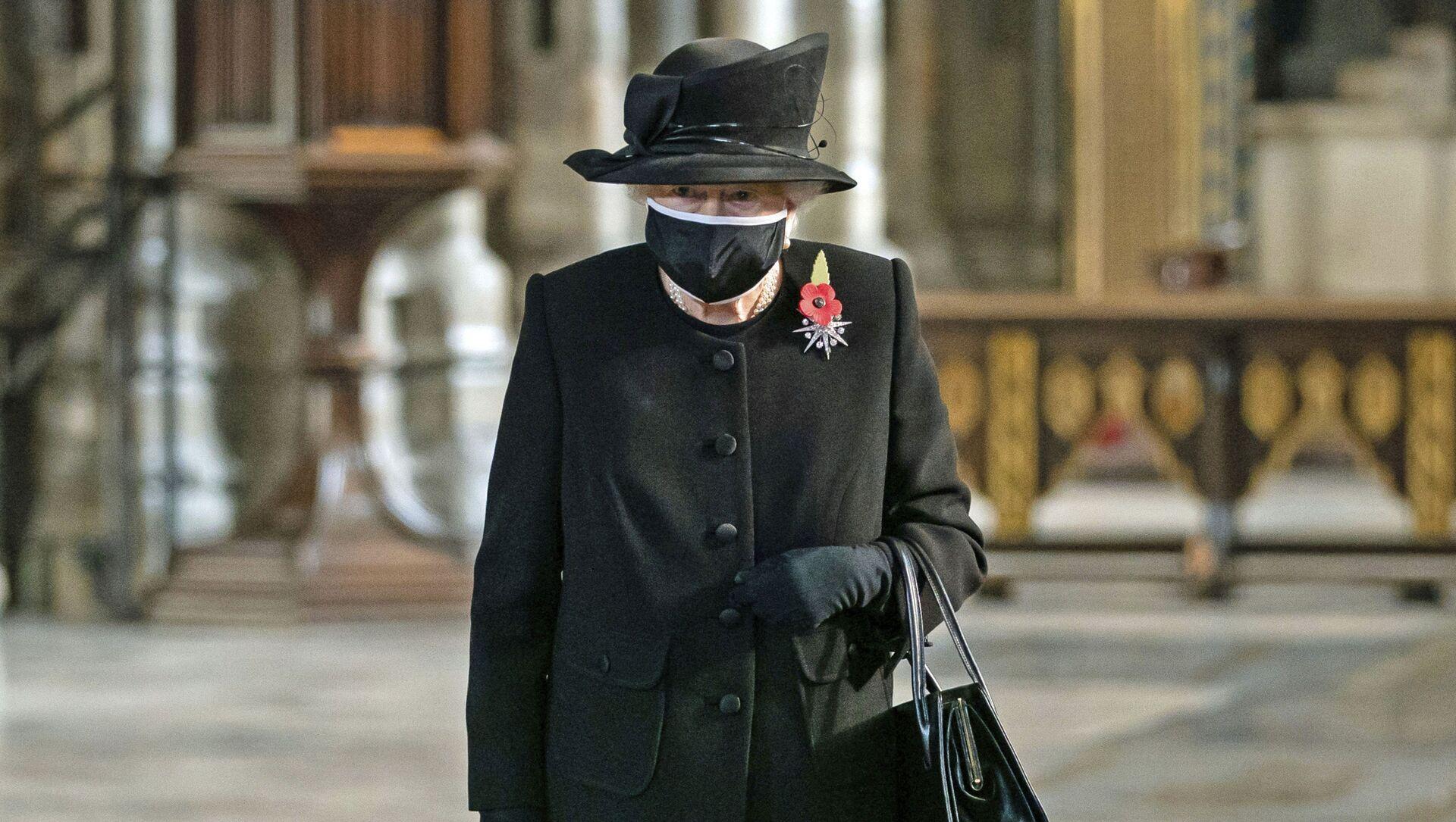 Nữ hoàng Elizabeth II Vương quốc Anh trong một buổi lễ ở Tu viện Westminster - Sputnik Việt Nam, 1920, 23.08.2021