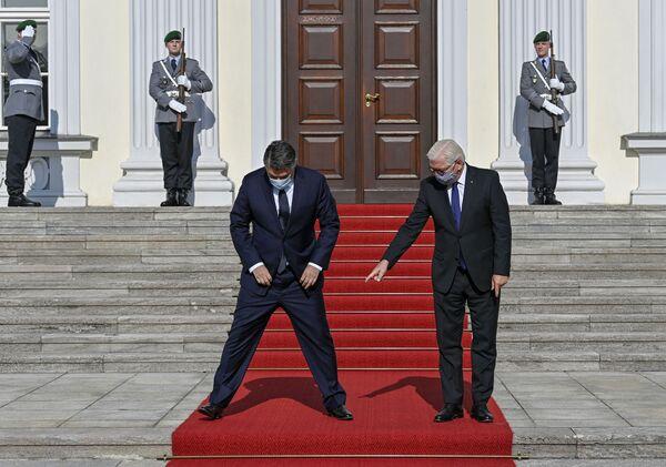 Tổng thống CHLB Đức Frank-Walter Steinmeier và Tổng thống Croatia Zoran Milanovic tại Berlin - Sputnik Việt Nam