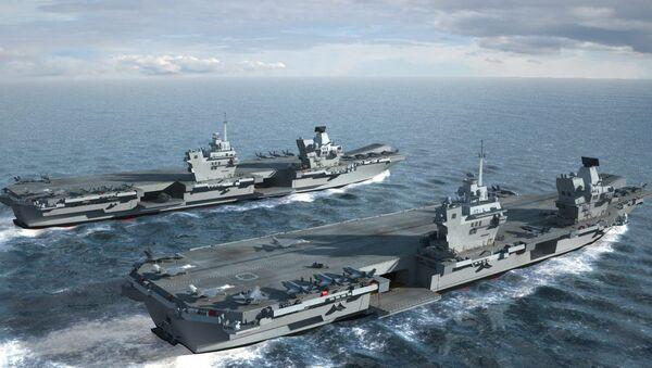 HMS Queen Elizabeth & HMS Prince of Wales - Sputnik Việt Nam