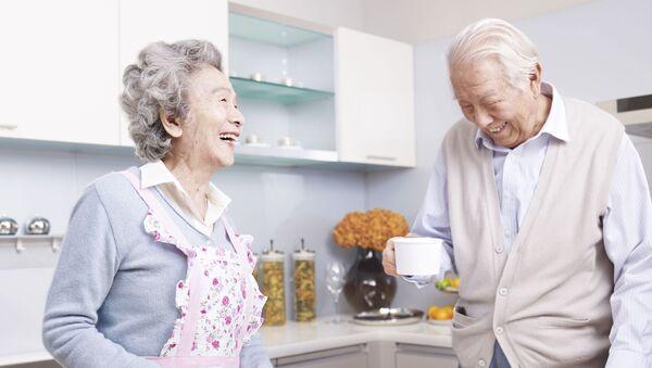 Cặp đôi lớn tuổi - Sputnik Việt Nam