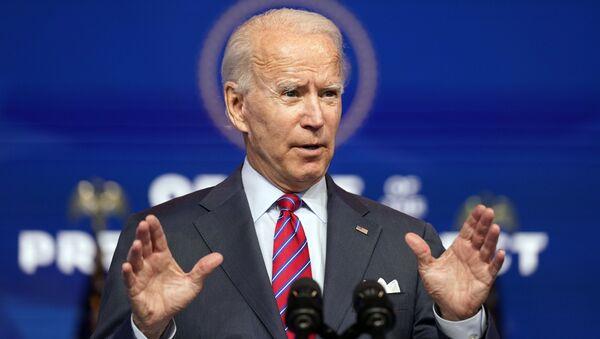 Tổng thống đắc cử Joe Biden phát biểu tại Wilmington, Delaware - Sputnik Việt Nam
