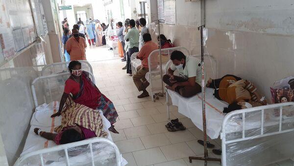 Đợt bùng phát căn bệnh lạ ở thành phố Eluru của Ấn Độ - Sputnik Việt Nam