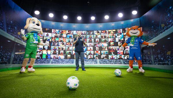 Giải vô địch bóng đá giao hữu trực tuyến Bóng đá vì tình bạn - Sputnik Việt Nam