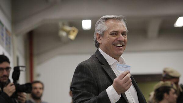 Tổng thống Argentina Alberto Fernandez  - Sputnik Việt Nam
