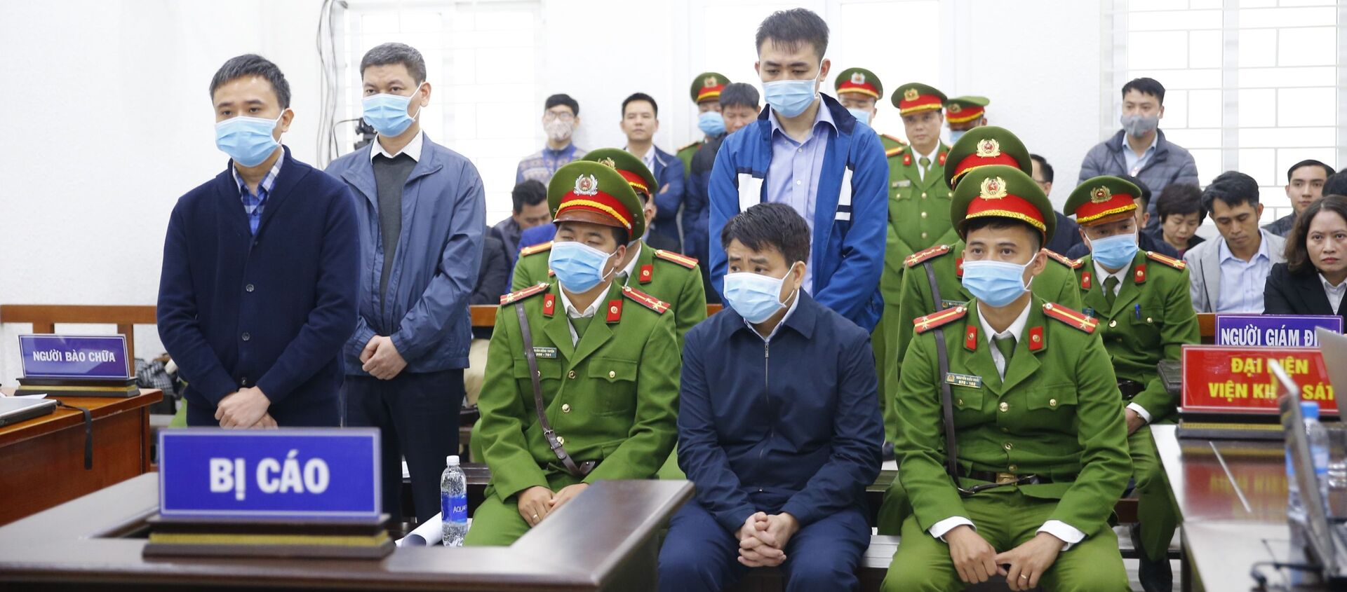Các bị cáo tại phiên tòa. - Sputnik Việt Nam, 1920, 14.12.2020