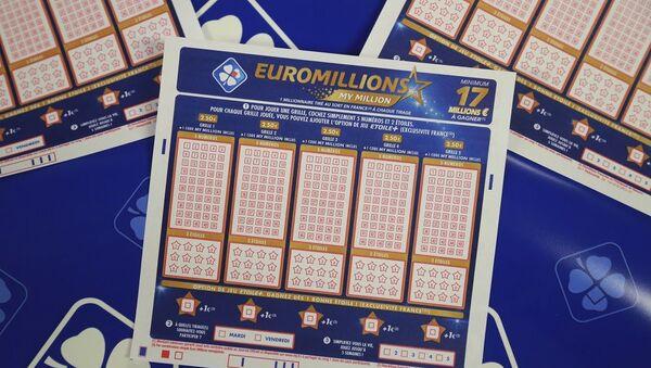 Vé xổ số EuroMillions - Sputnik Việt Nam