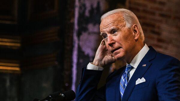 Tổng thống đắc cử Hoa Kỳ Joe Biden phát biểu trong Lễ Tạ ơn ở Wilmington - Sputnik Việt Nam