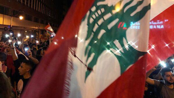Biểu tình chống chính phủ ở Beirut - Sputnik Việt Nam