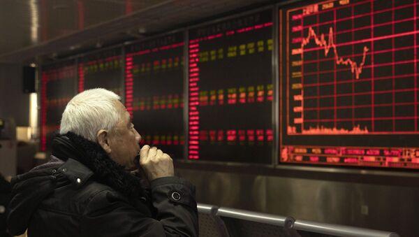 Sở giao dịch chứng khoán Trung Quốc. Bắc Kinh - Sputnik Việt Nam