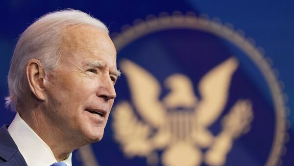 Tổng thống đắc cử của Hoa Kỳ Joe Biden - Sputnik Việt Nam