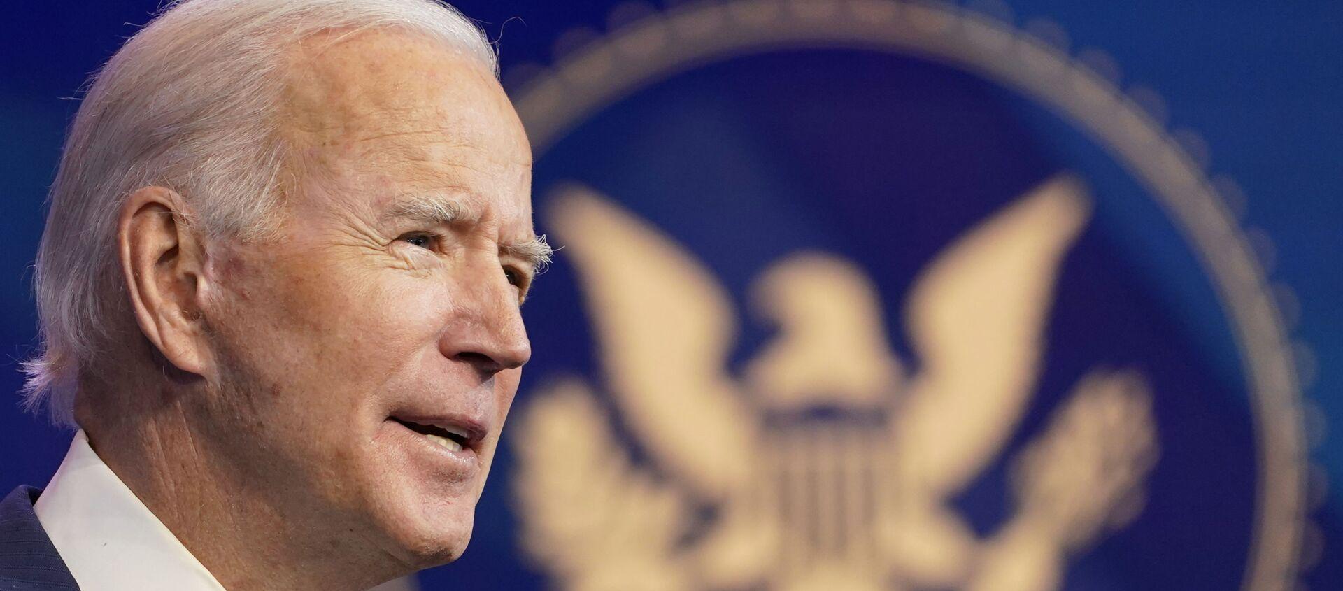 Tổng thống đắc cử của Hoa Kỳ Joe Biden - Sputnik Việt Nam, 1920, 13.04.2021