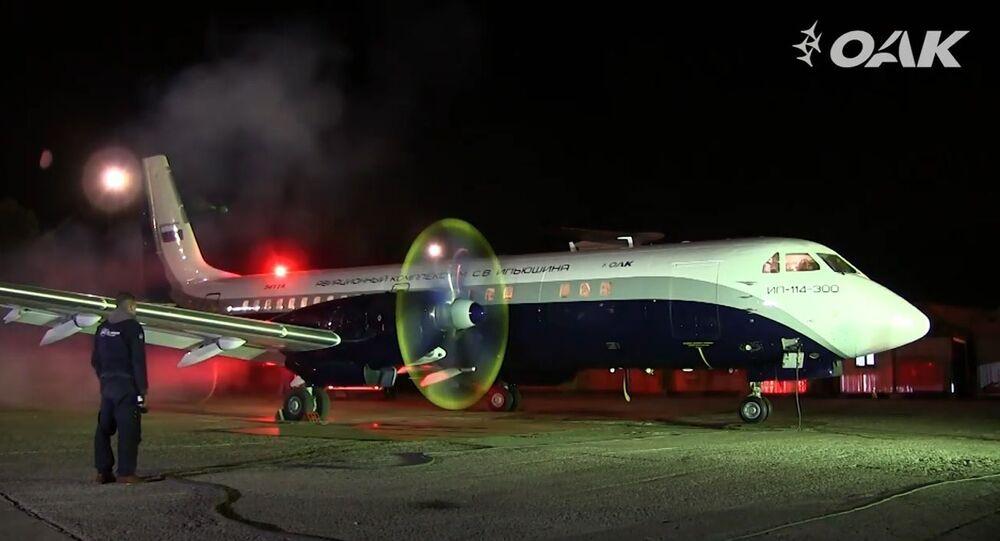 Máy bay Il-114-300 mới của Nga