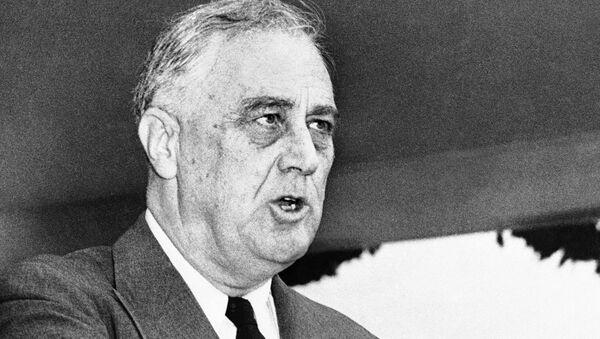 Tổng thống thứ 32 của Hoa Kỳ Franklin D. Roosevelt - Sputnik Việt Nam