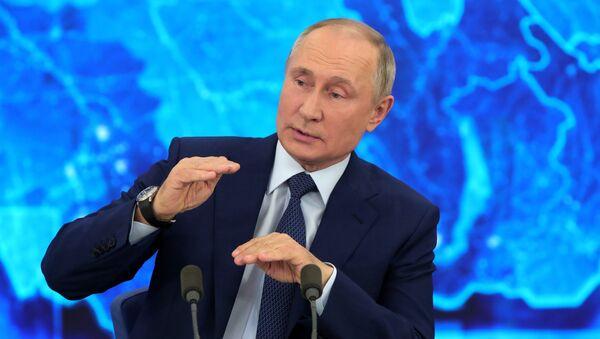 Tổng thống Putin tiến hành cuộc họp báo lớn - Sputnik Việt Nam