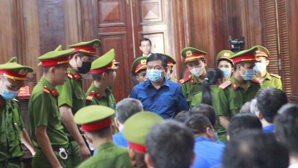 Bị cáo Đinh La Thăng tại phiên tòa. - Sputnik Việt Nam
