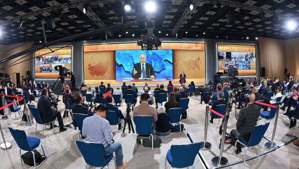 Cuộc Họp báo lớn thường niên của Tổng thống Nga V.Putin - Sputnik Việt Nam