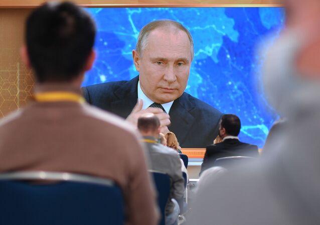 Cuộc họp báo thường niên của Tổng thống Nga Putin