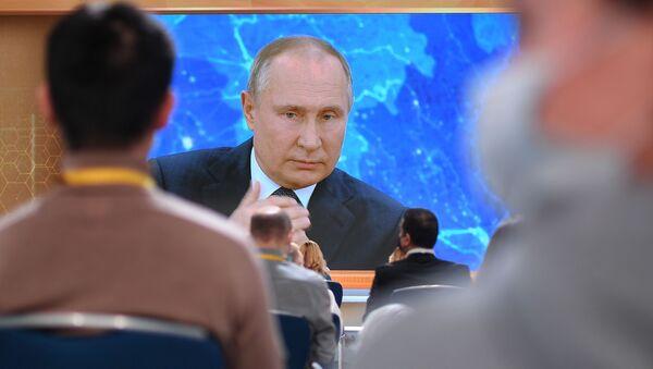 Cuộc họp báo thường niên của Tổng thống Nga Putin - Sputnik Việt Nam