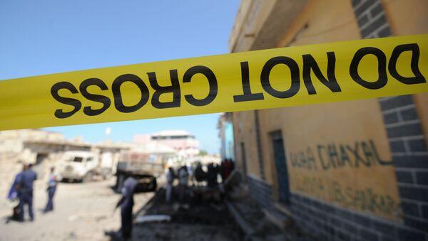 Cảnh sát đập băng ở Mogadishu - Sputnik Việt Nam