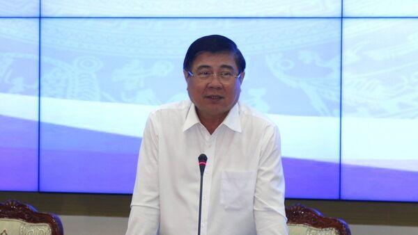 Chủ tịch UBND TP. Hồ Chí Minh Nguyễn Thành Phong phát biểu tại hội nghị - Sputnik Việt Nam