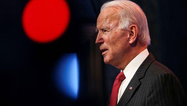 Joe Biden phát biểu với báo chí ngày 19 tháng 11 năm 2020 - Sputnik Việt Nam