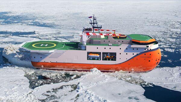 Tàu tự hành Bắc Cực thuộc dự án 00903 - Sputnik Việt Nam