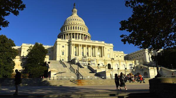 Tòa nhà Capitol trên Đồi Capitol ở Washington DC - Sputnik Việt Nam