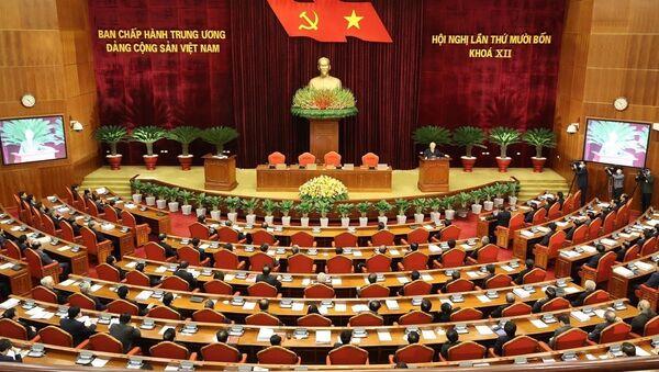 Ban Chấp hành Trung ương Đảng đã tiếp thu các ý kiến đóng góp của toàn Đảng, toàn dân để hoàn tất các văn kiện và nhất trí cao nhân sự trình Đại hội XIII của Đảng. - Sputnik Việt Nam