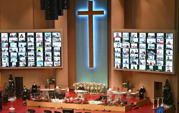 Tường thuật trực tiếp lễ Giáng sinh từ nhà thờ Seoul, Hàn Quốc - Sputnik Việt Nam