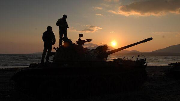 Thiết bị quân sự của Nga trên đảo Kunashir - Sputnik Việt Nam